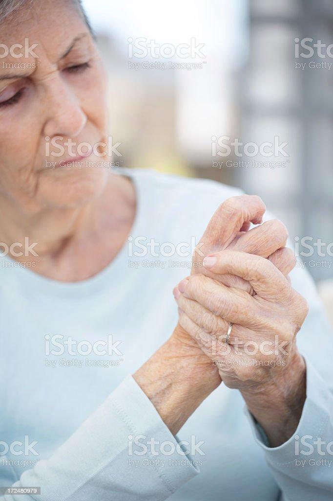 Arthritis royalty-free stock photo