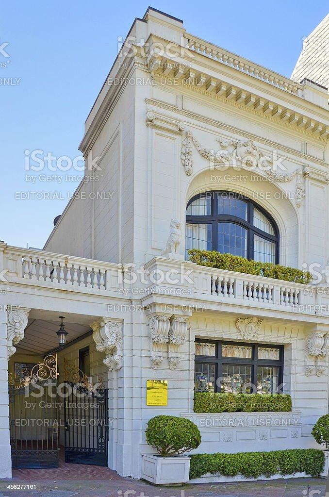 Arthur Conan Doyle House in San Francisco stock photo
