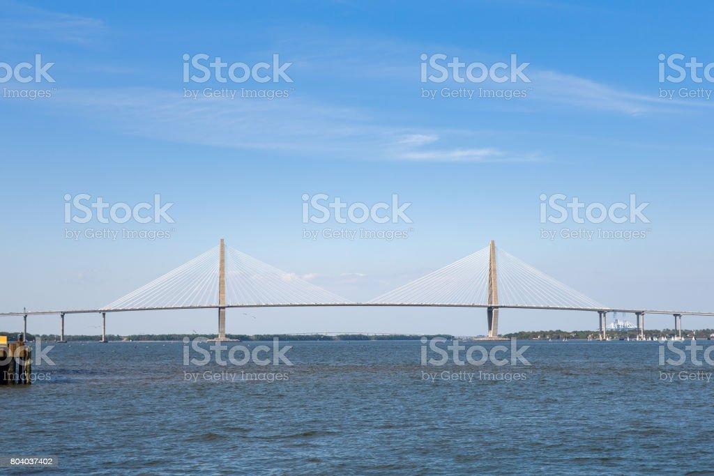 Arthur Ravenel Jr. Bridge stock photo