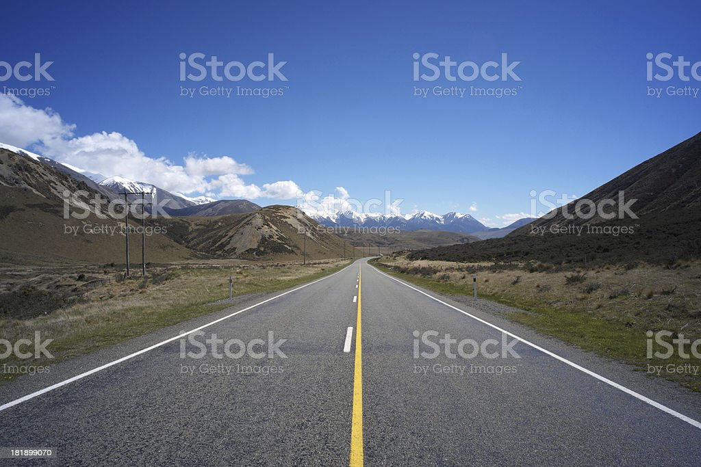 Arthur's Pass National Park, New Zealand royalty-free stock photo