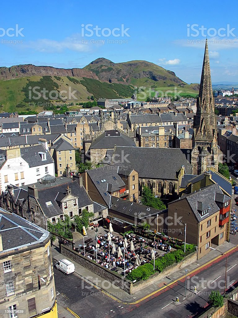 Arthur's Seat, Edinburgh stock photo