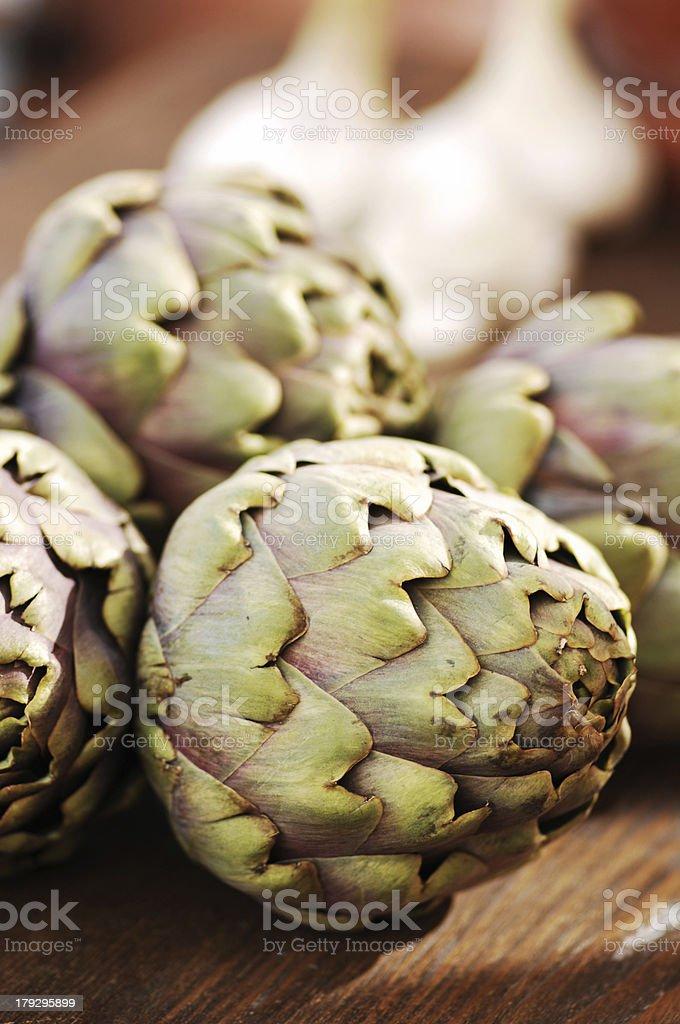 artichokes royalty-free stock photo