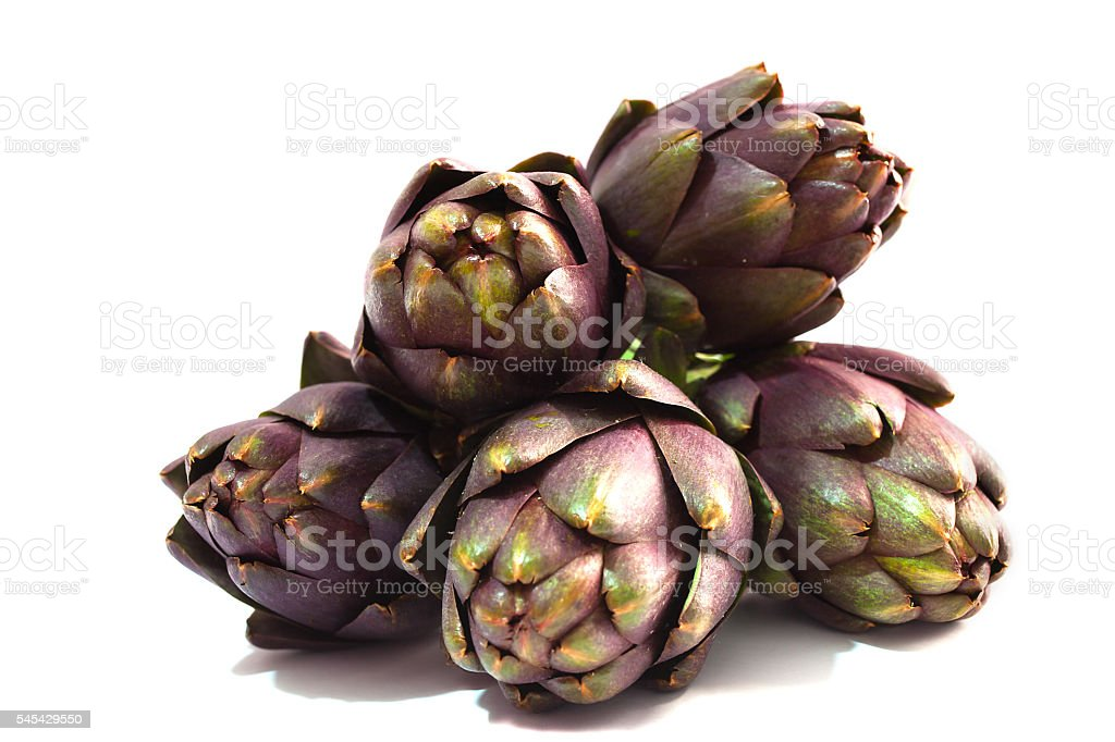 Artichokes. stock photo