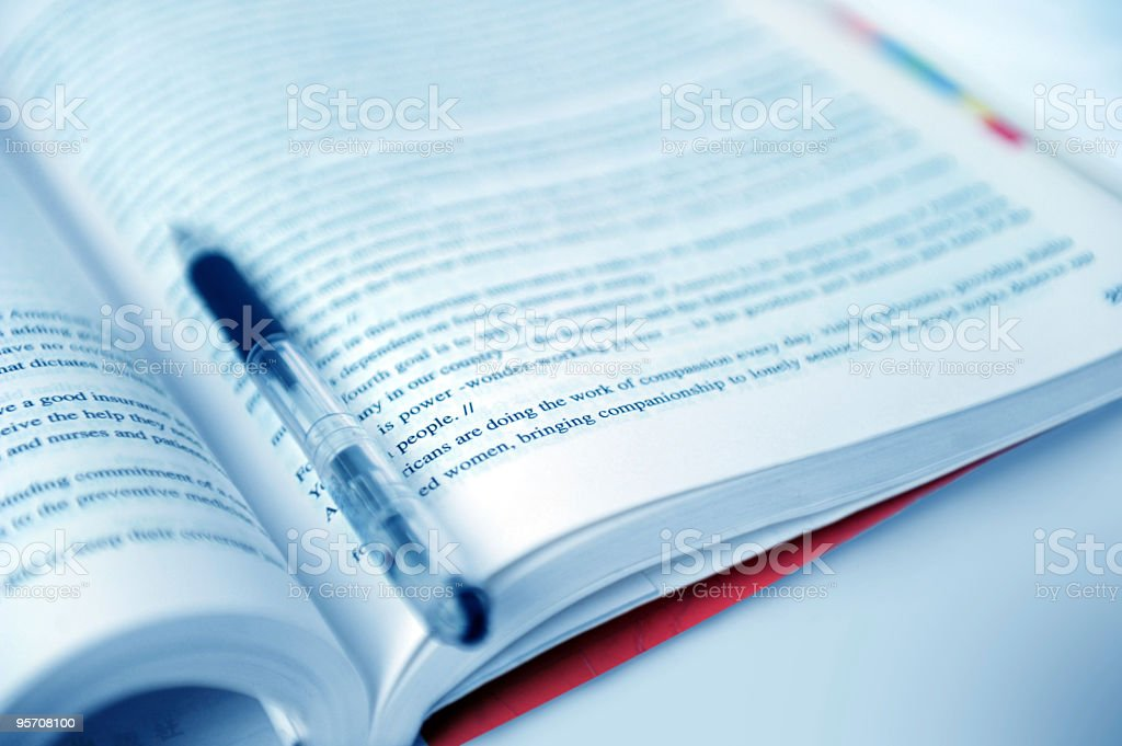 Articles-Legal Document-Business Symbol royalty-free stock photo
