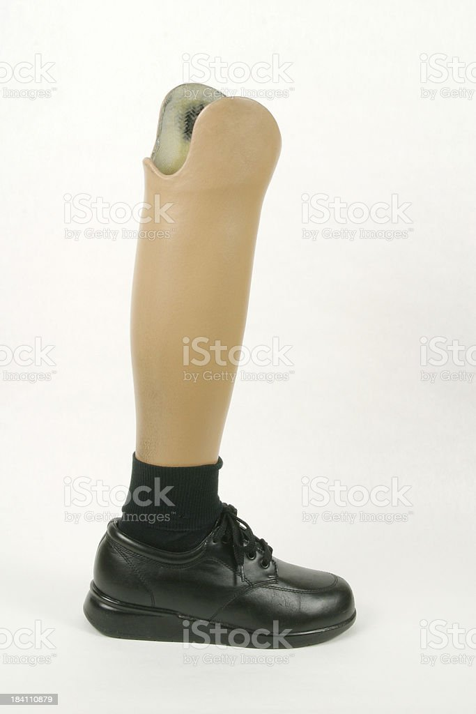 Artifical Leg and Foot, Prosthesis royalty-free stock photo