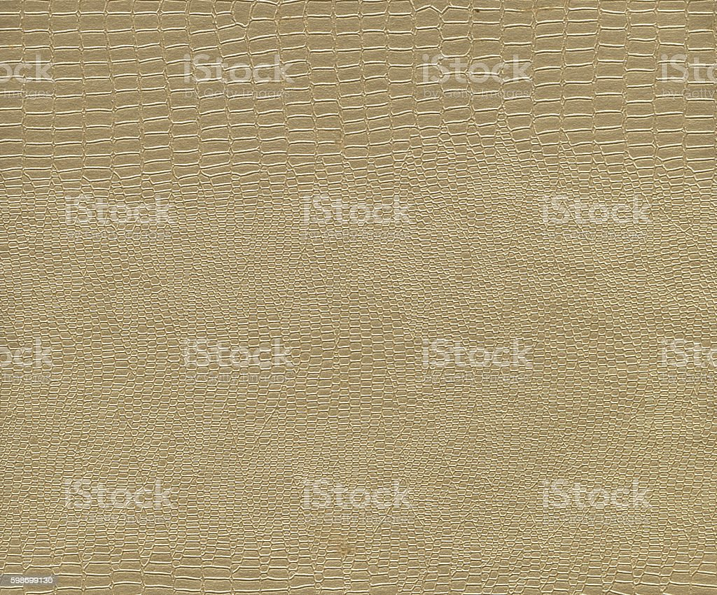Artificial Crocodile Leather Texture stock photo