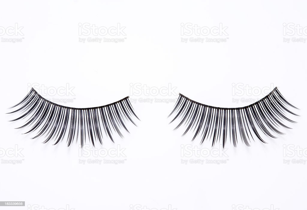 Artificial Eyelashes royalty-free stock photo