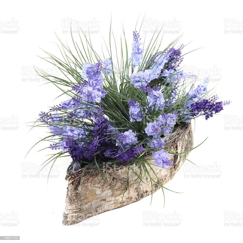 artificial flowers of spiked speedwell royalty-free stock photo