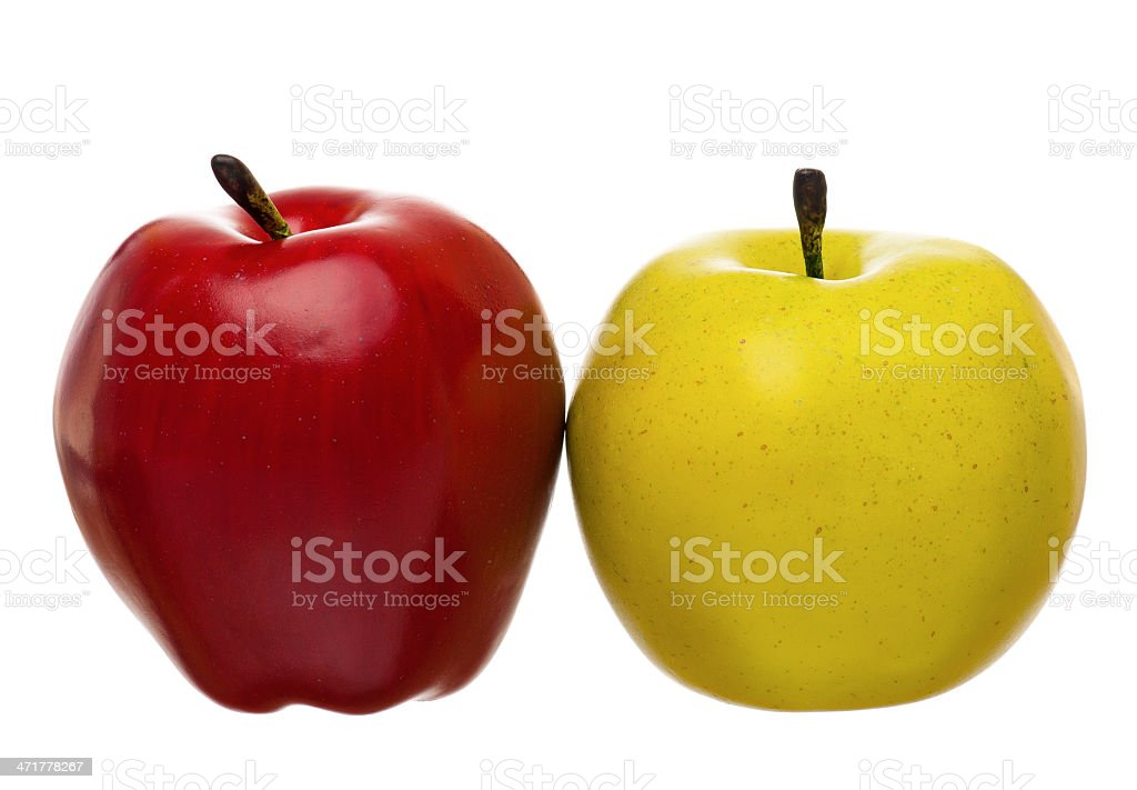 Artificial fruit royalty-free stock photo
