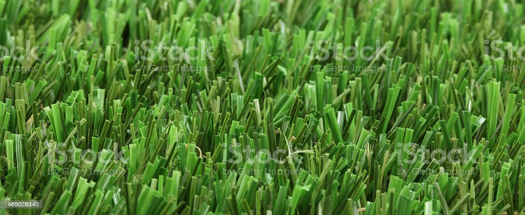 artificial grass close up stock photo
