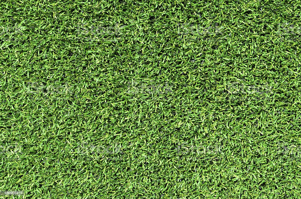 Artificial Grass Field background stock photo