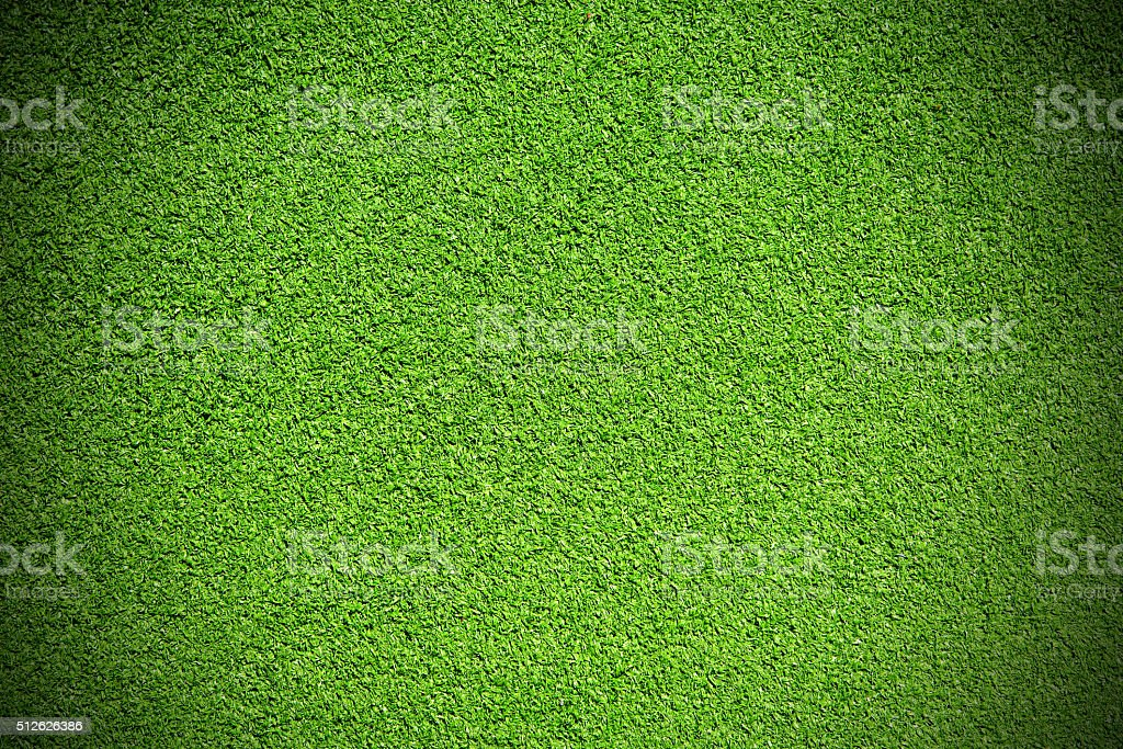 Artificial grass stock photo