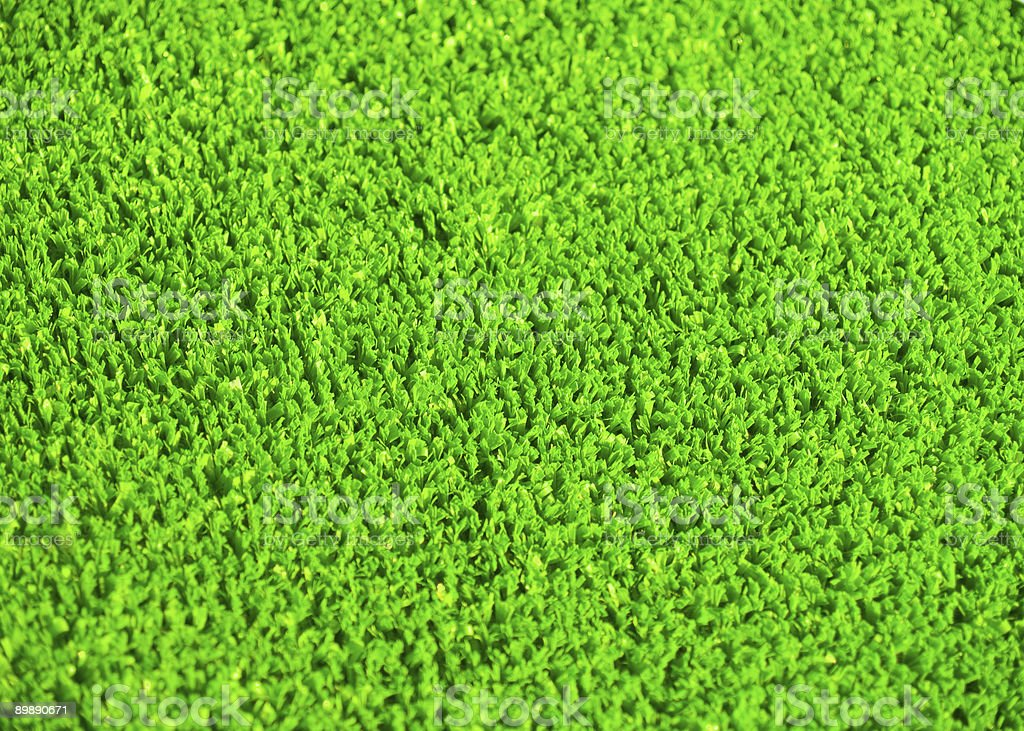Artificial grass royalty-free stock photo