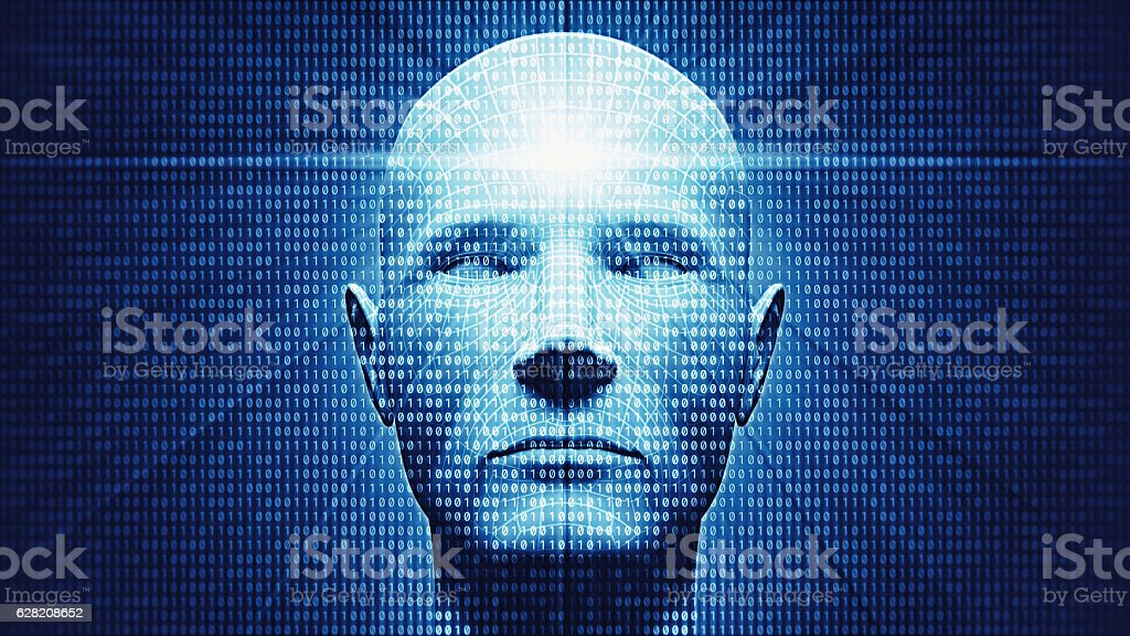 Artificial Intelligence And VR stock photo