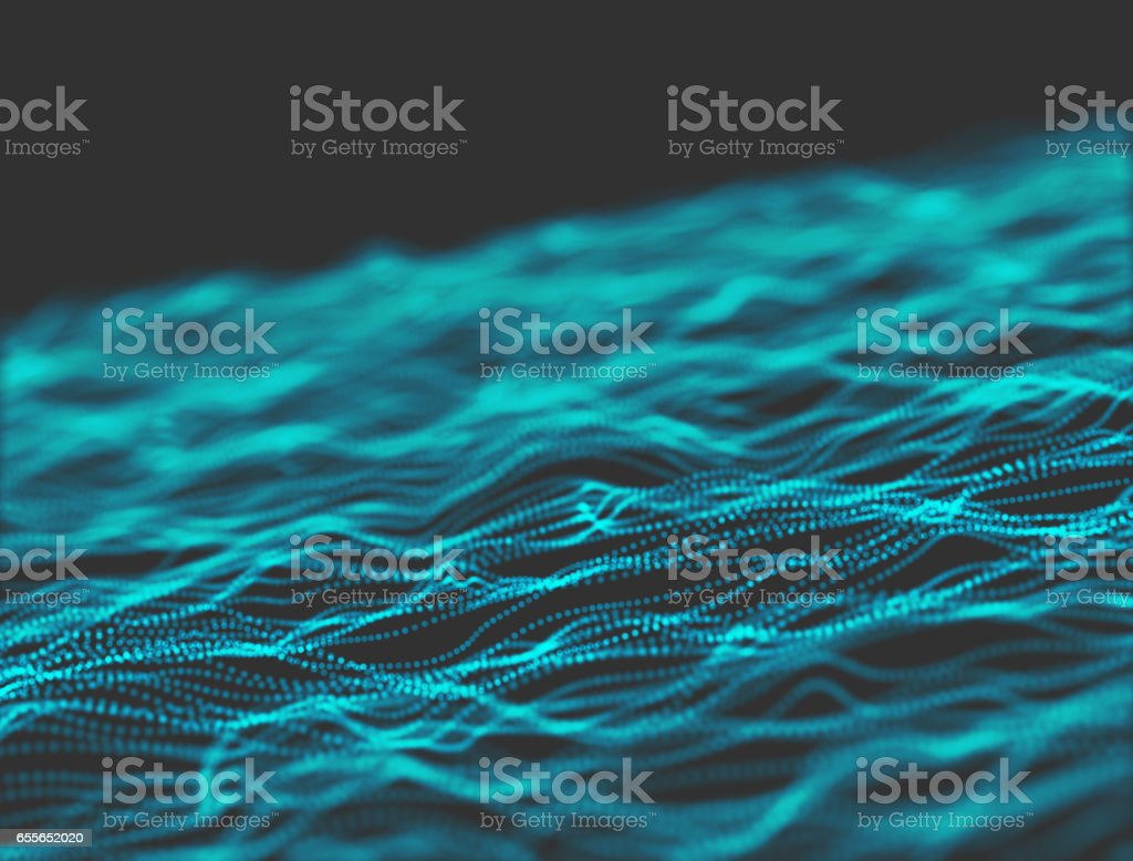 Artificial Intelligence, network connection technology stock photo