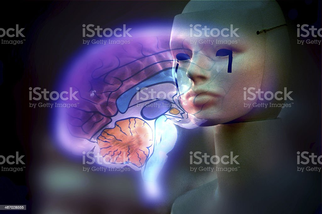 intelligenza artificiale royalty-free stock photo