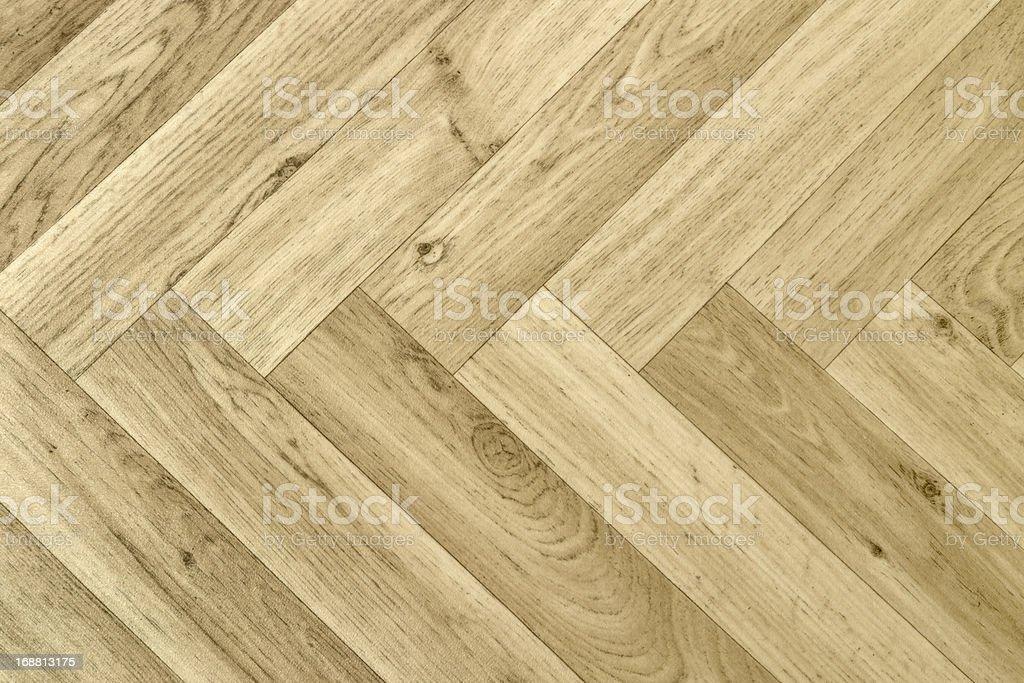 artificial parquet floor stock photo