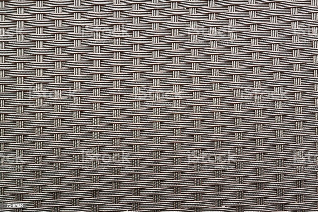 artificial rattan weave  for background stock photo