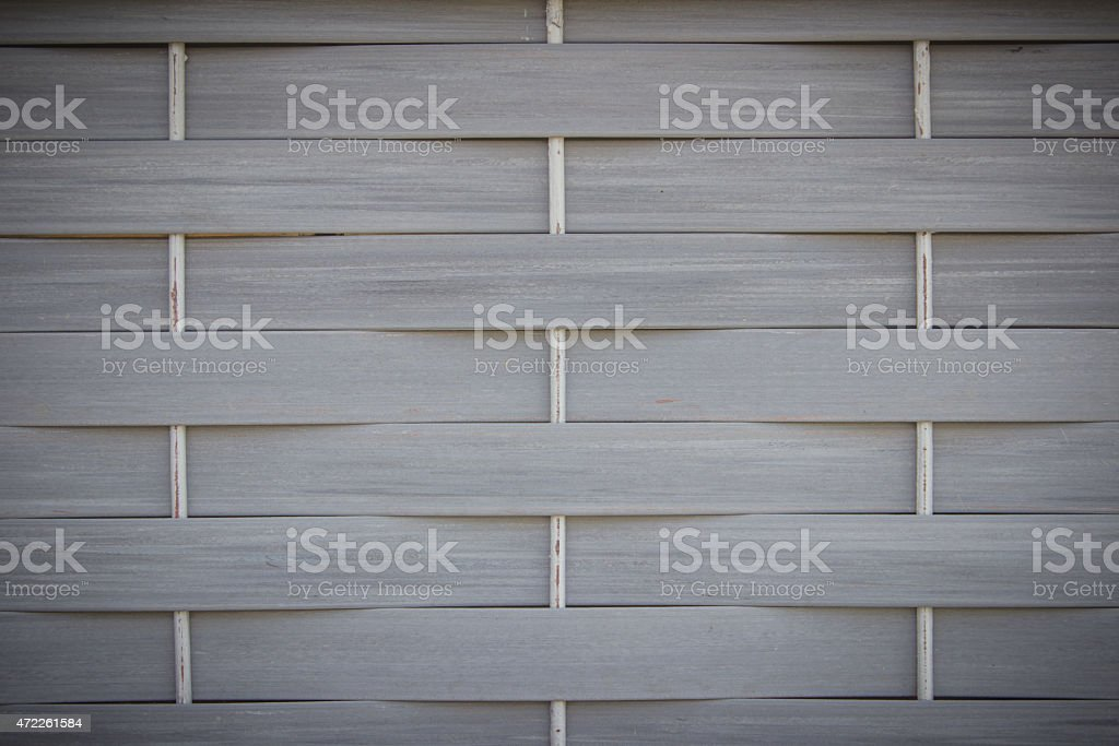 artificial rattan weave texture for background stock photo