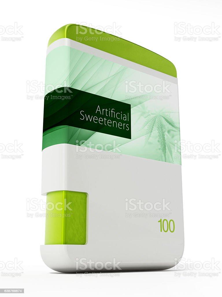 Artificial sweeteners stock photo