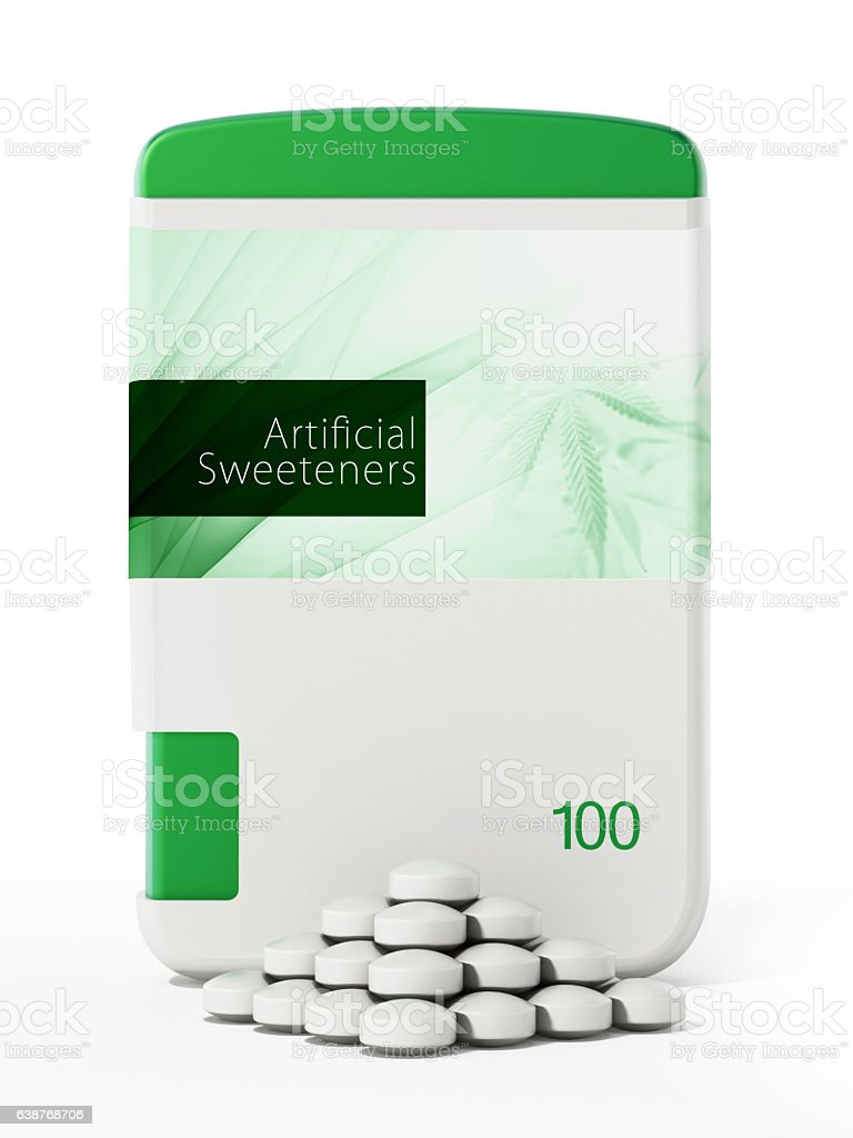 Artificial sweeteners stock photo