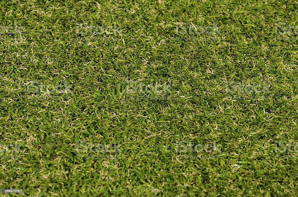 Artificial turf from above stock photo