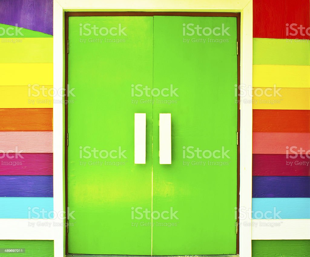 Artificial wood stock photo