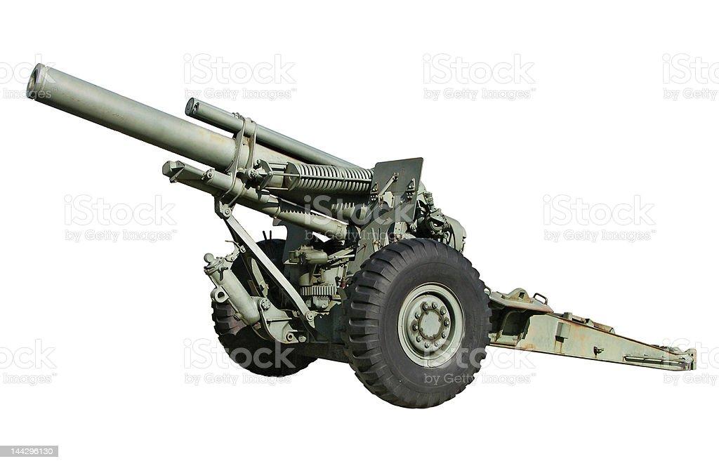 Artillery Gun stock photo