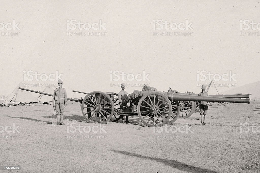 Artillery royalty-free stock photo