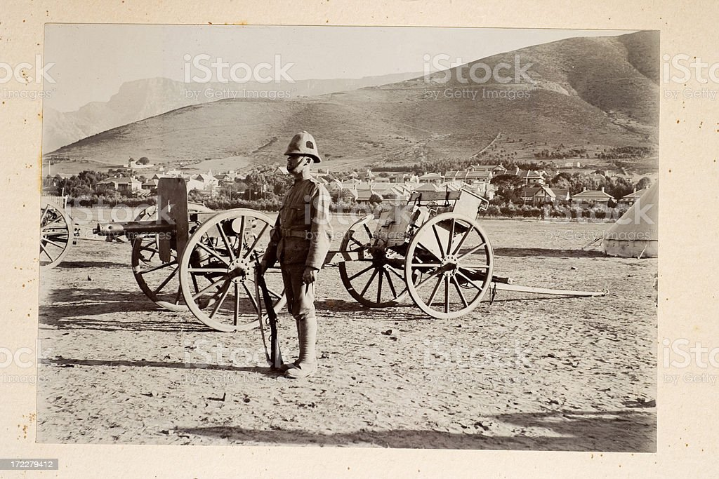Artillery royalty-free stock photo