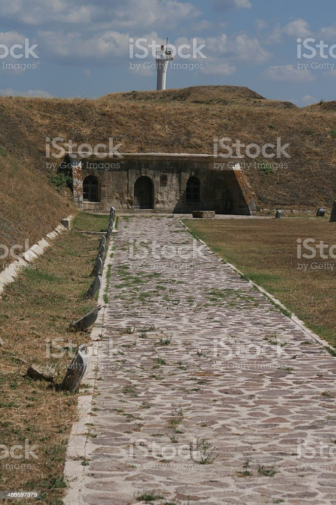artillery redoubt gallipoli royalty-free stock photo