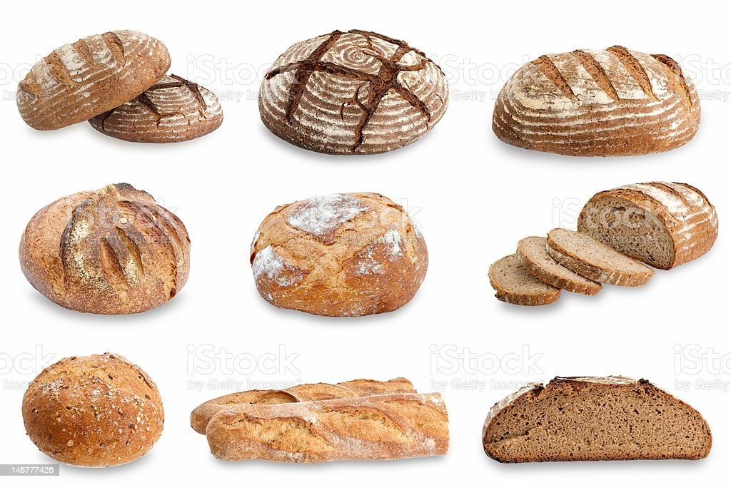 Artisan bread royalty-free stock photo