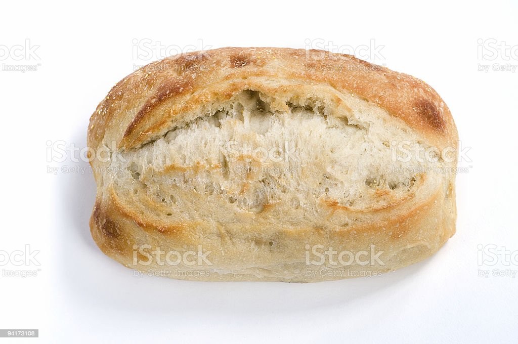 Artisan Bread (Directly Above) stock photo