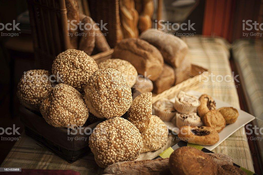 Artisan Breads royalty-free stock photo