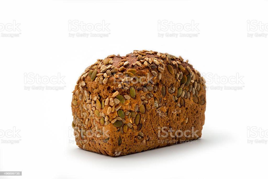 artisan whole grain brown  Bread stock photo