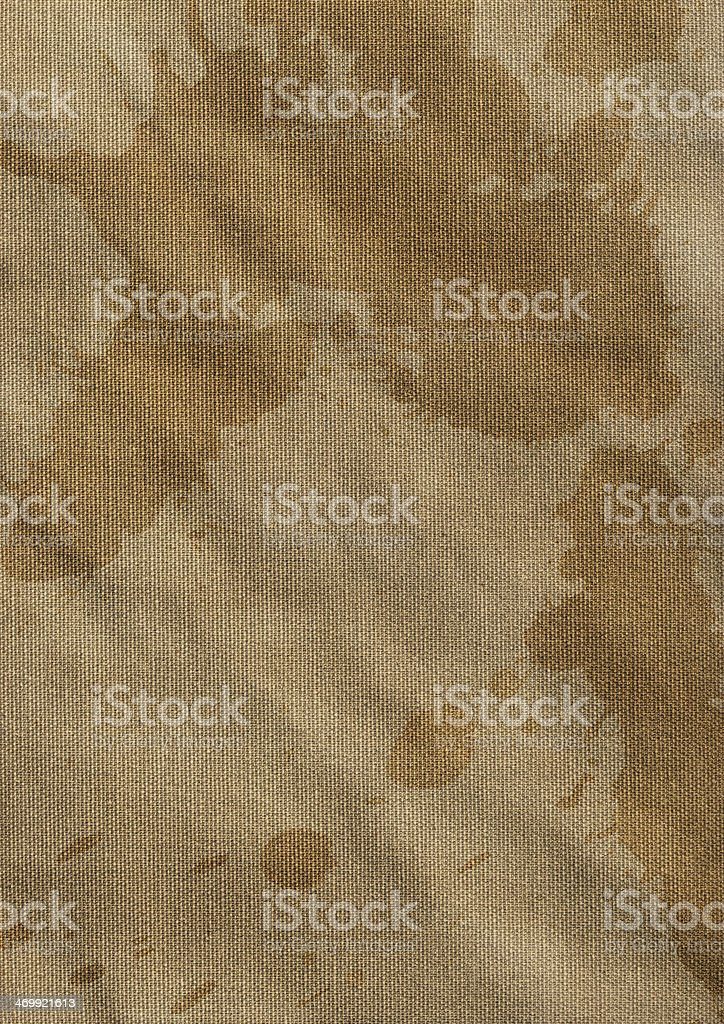 Artist Cotton Duck Crumpled Mottled Canvas Grunge Texture royalty-free stock photo