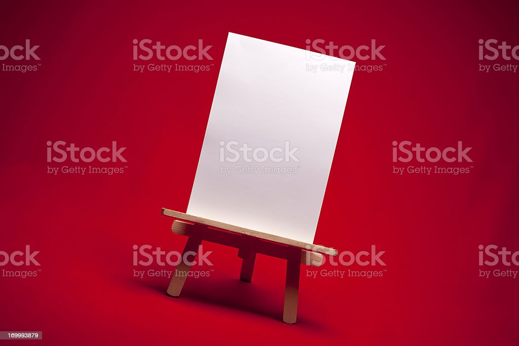 Artist Easel royalty-free stock photo