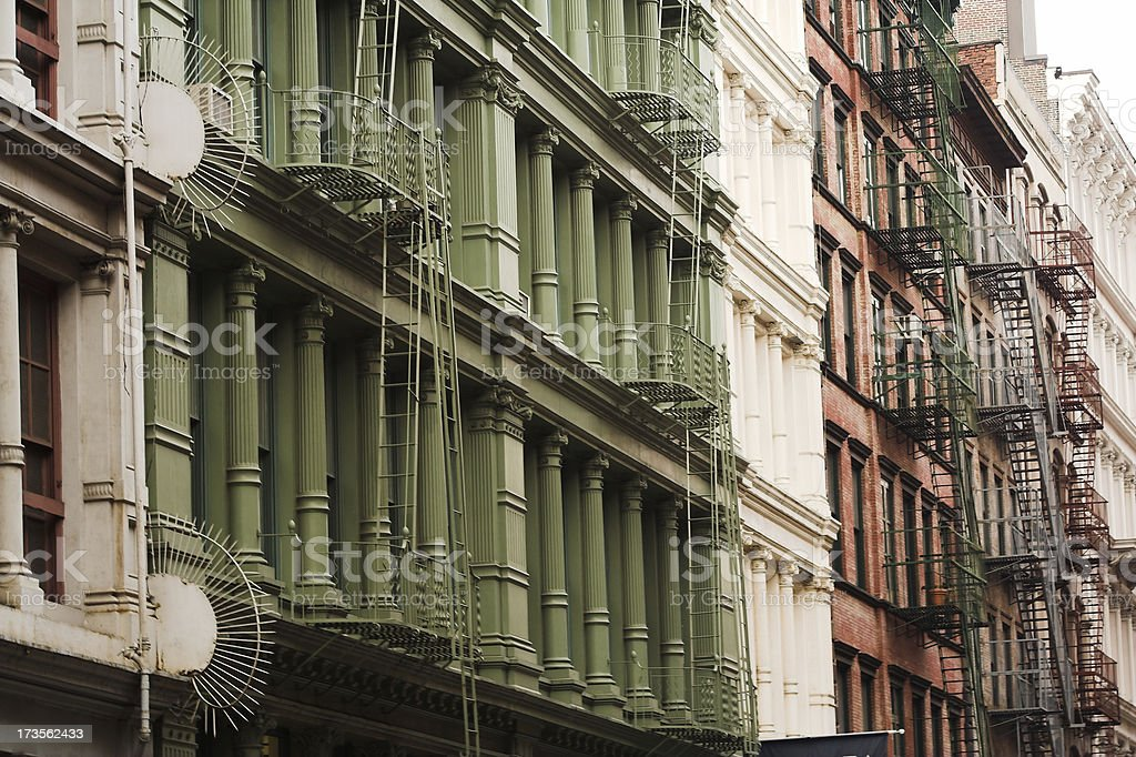 Artist Lofts in SOHO royalty-free stock photo