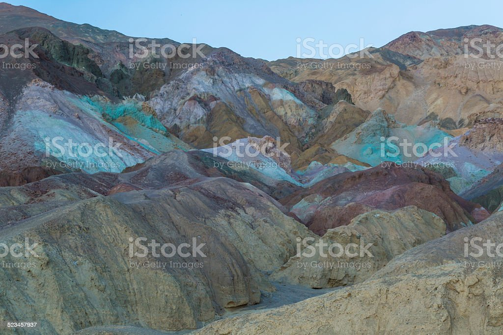 Artist Palette in Death Valley stock photo
