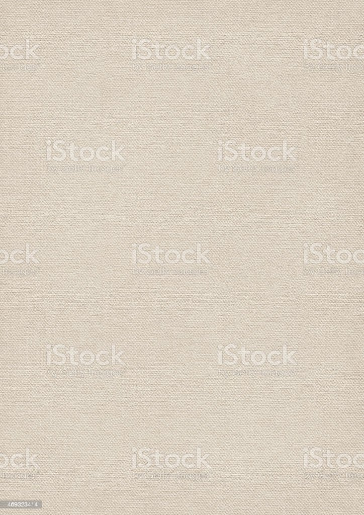 Artist Primed Cotton Duck Canvas Coarse Grunge Texture stock photo