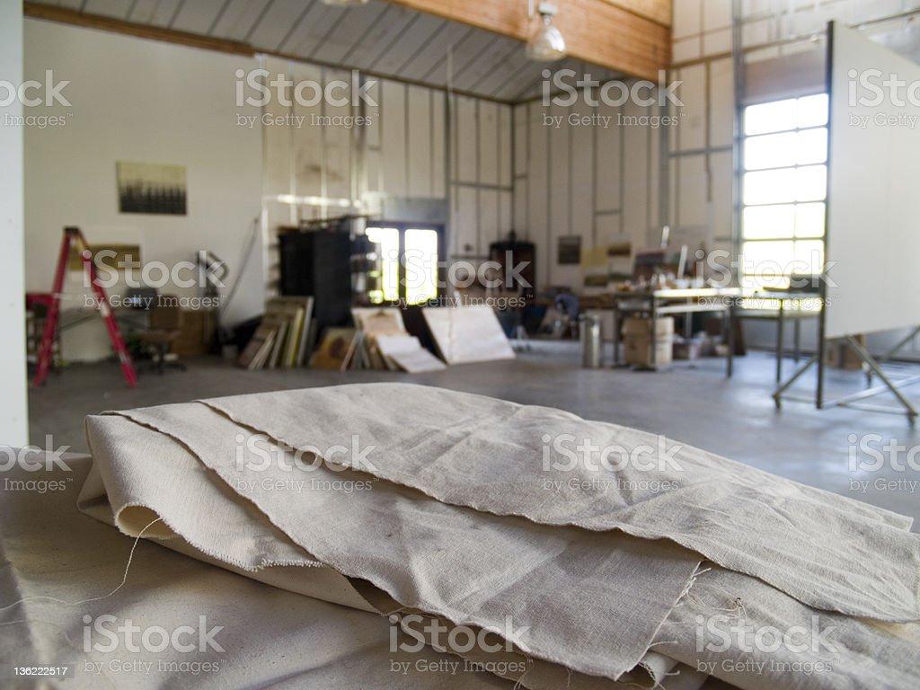 Artist Studio royalty-free stock photo