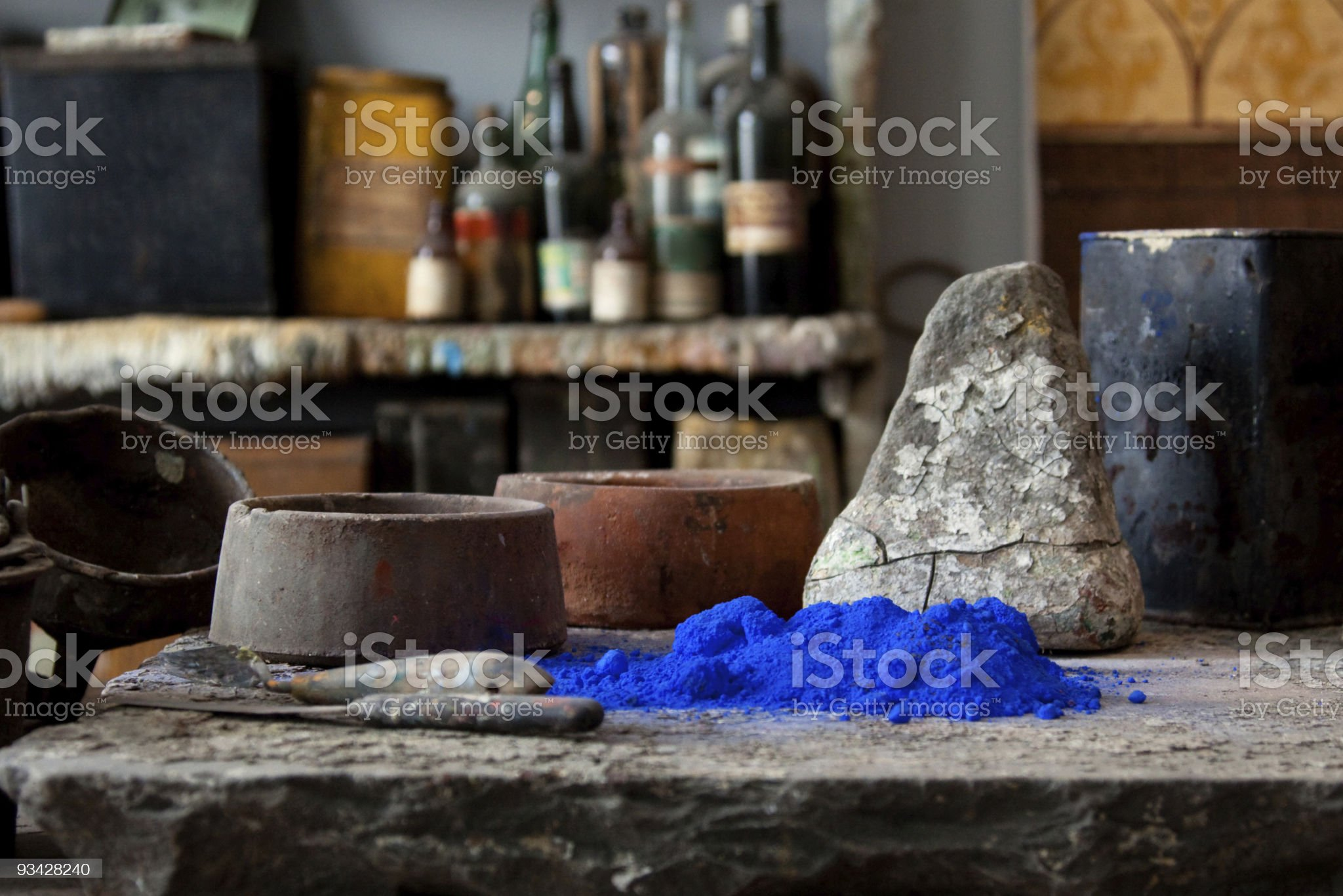 Artist Workshop royalty-free stock photo