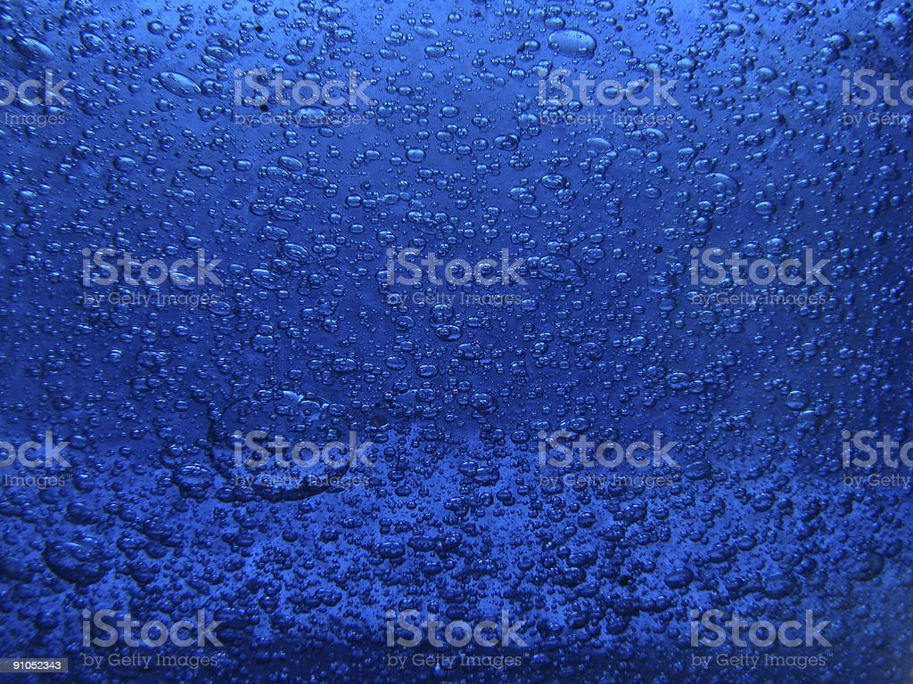 artistic blue background royalty-free stock photo