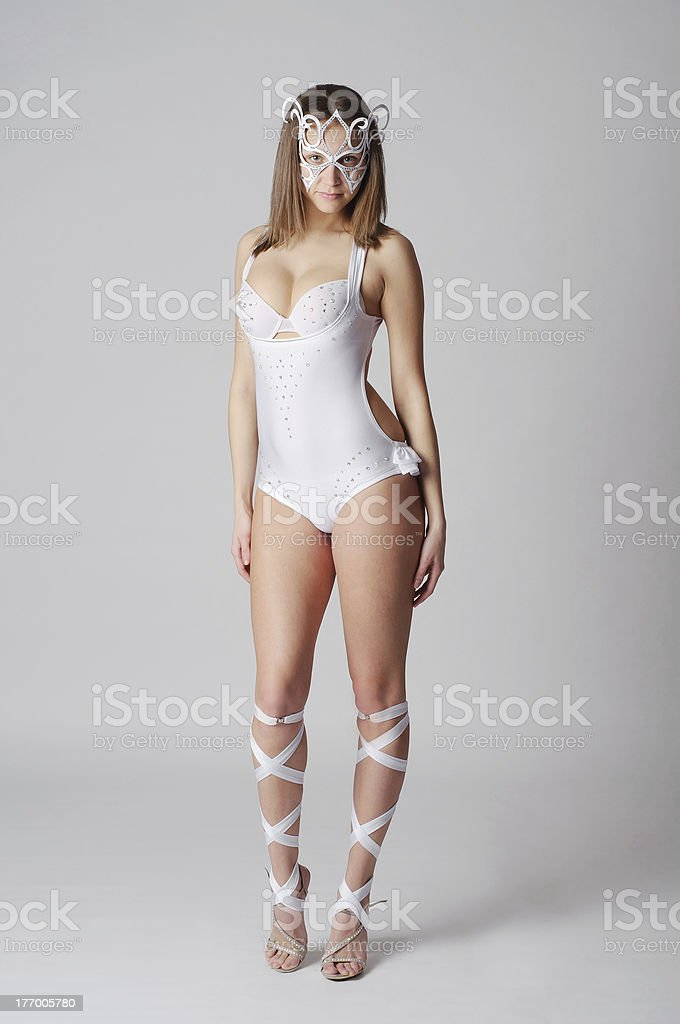 Artistic dancer stock photo