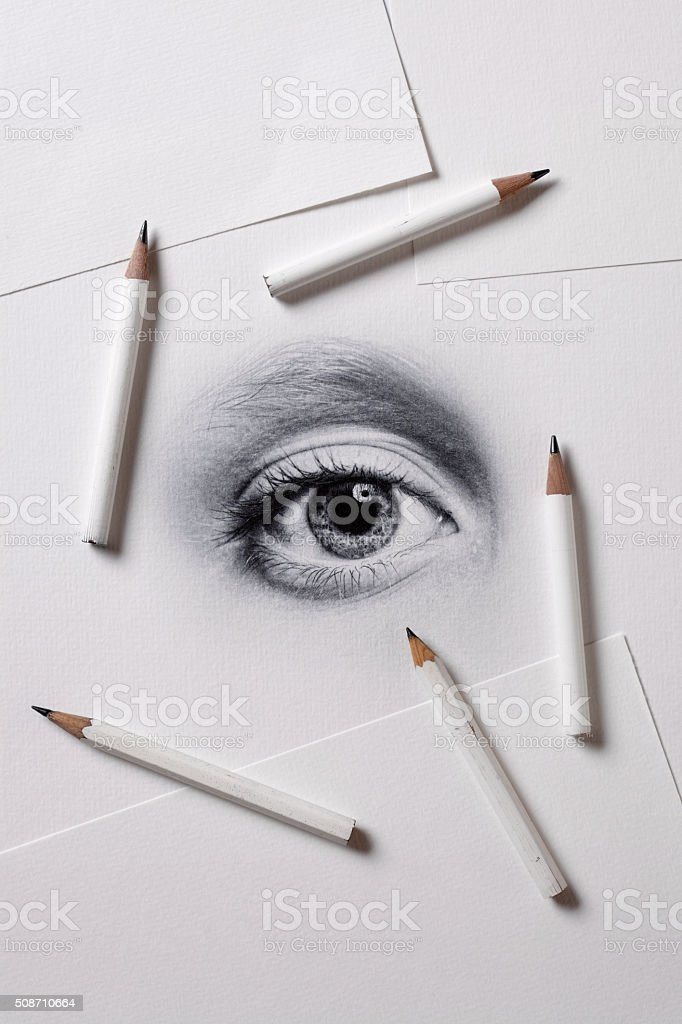 Artistic Drawing stock photo