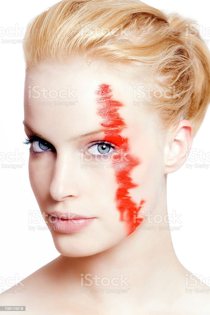 Artistic MakeUp royalty-free stock photo