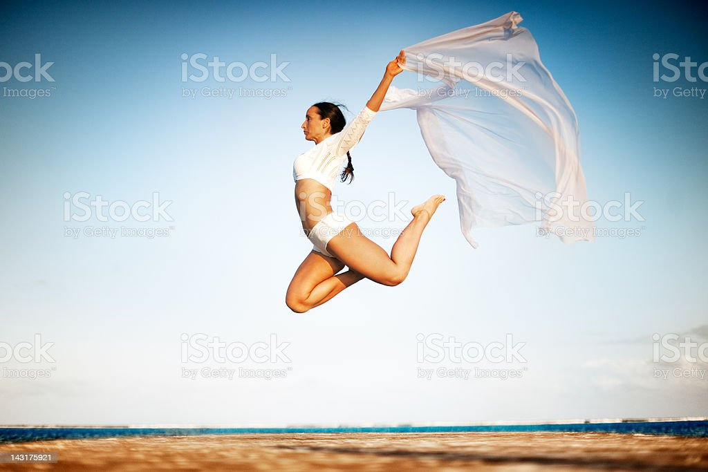 Artistic moves stock photo