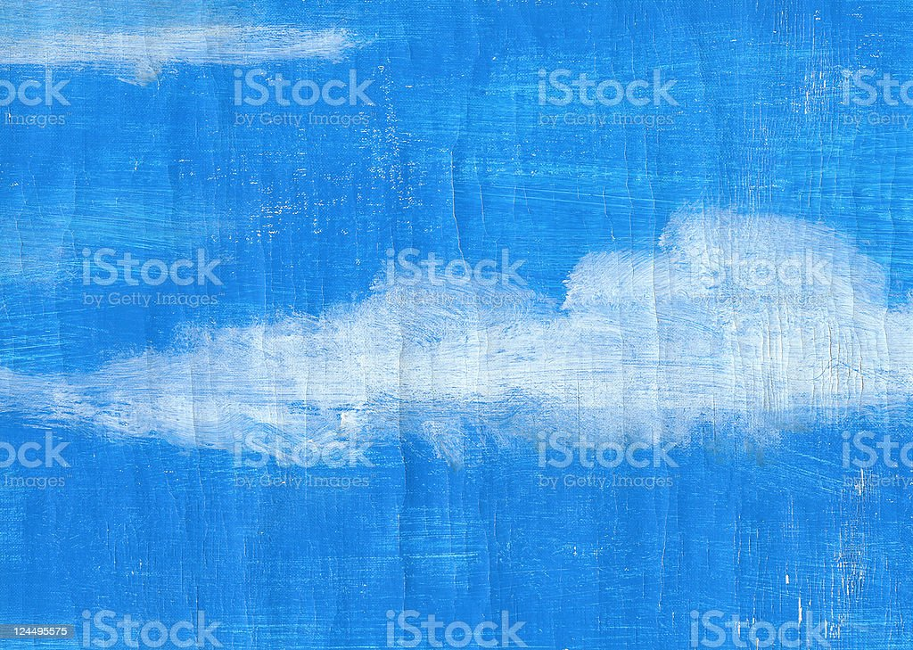 Artistic Sky royalty-free stock photo