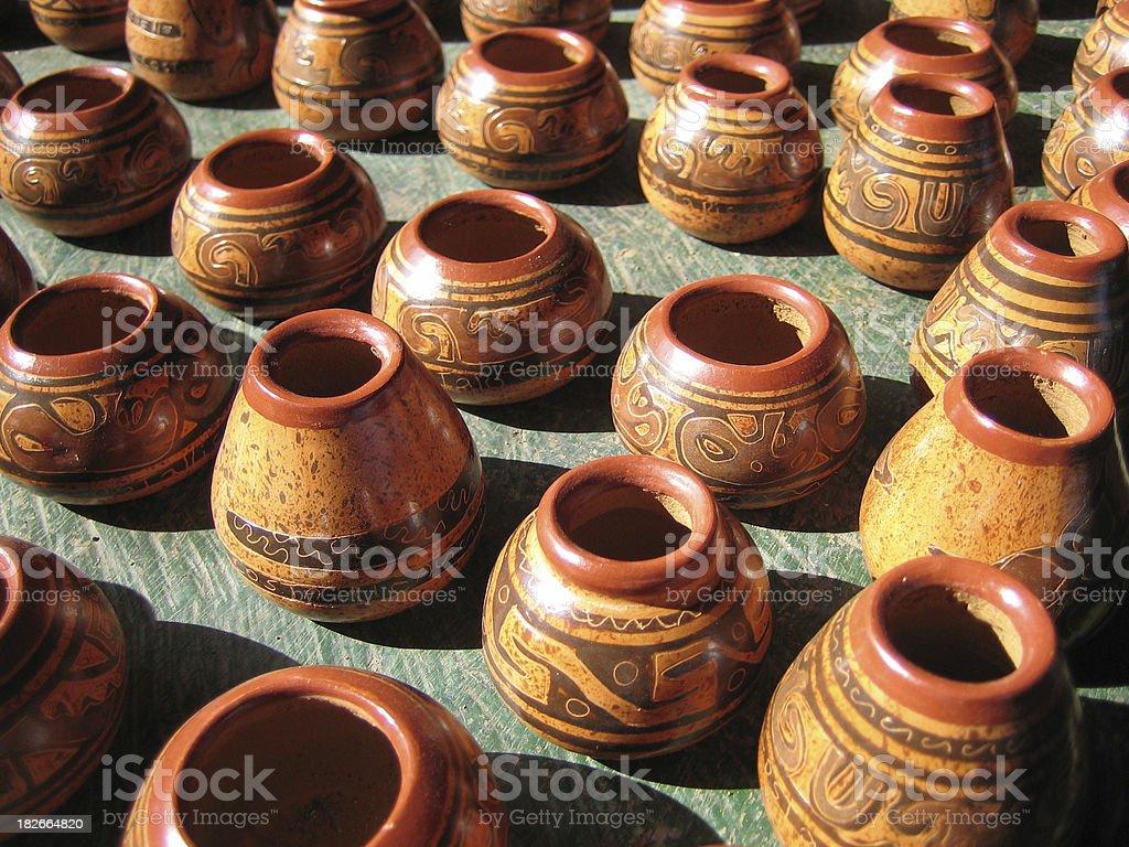 Artistic Vases royalty-free stock photo