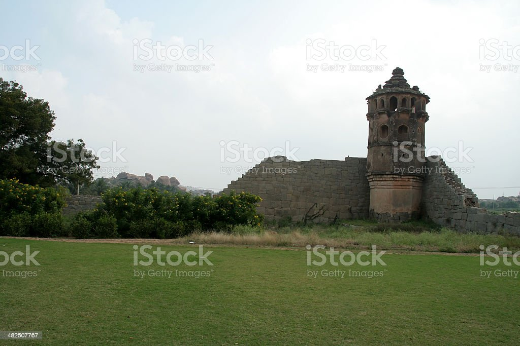Artistic Watch Tower stock photo